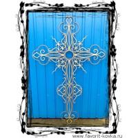 Крест кованый19