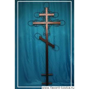 Крест кованый24