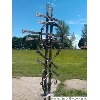 Крест кованый25