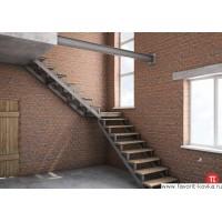 Лестница на металлокаркасе 4