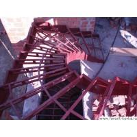 Лестница на металлокаркасе6