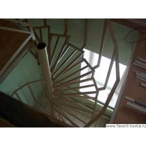 Лестница на металлокаркасе8