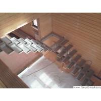 Лестница на металлокаркасе10