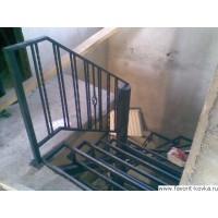 Лестница на металлокаркасе12