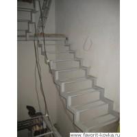 Лестница на металлокаркасе14