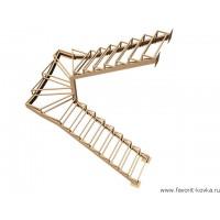 Лестница на металлокаркасе20