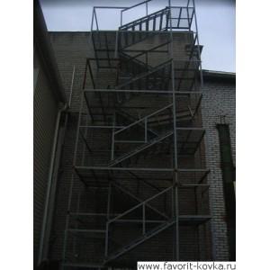 Лестница пожарная5