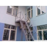 Лестница пожарная6