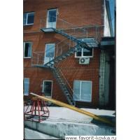Лестница пожарная8