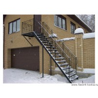 Лестница пожарная14
