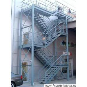 Лестница пожарная15