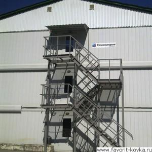 Лестница пожарная20