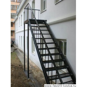 Лестница пожарная25