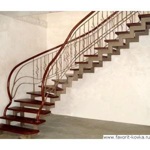 Лестница винтовая3