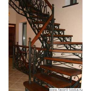 Лестница винтовая4