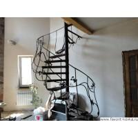 Лестница винтовая11