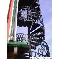 Лестница винтовая12