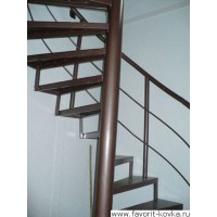 Лестница винтовая14