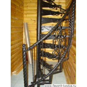 Лестница винтовая17