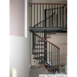 Лестница винтовая19