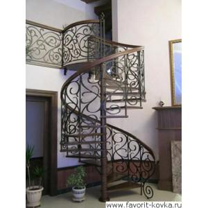 Лестница винтовая22