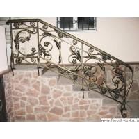 Хотите купить для лестницы кованые перила?