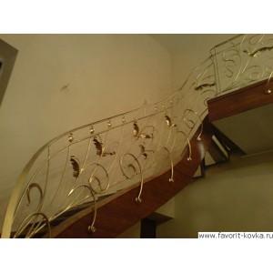 Лестничные ограждения кованые11