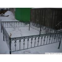 Ограда ритуальная12