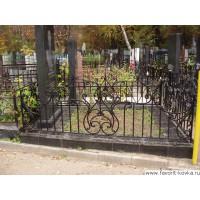 Ограда ритуальная15