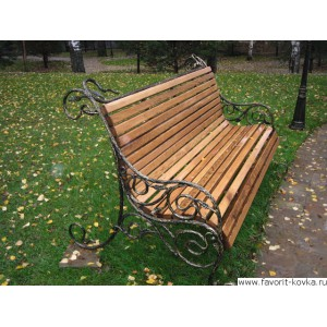 Парковые скамейки2