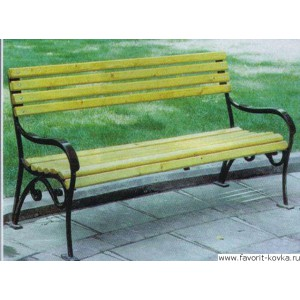 Парковые скамейки5