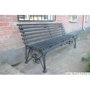Парковые скамейки10