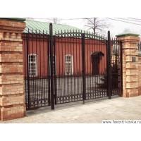 Сварные ворота2