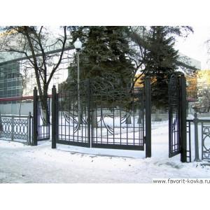 Сварные ворота5