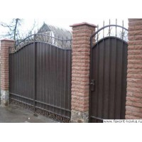 Сварные ворота11