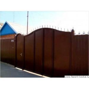 Сварные ворота25