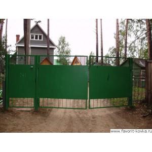 Сварные ворота27