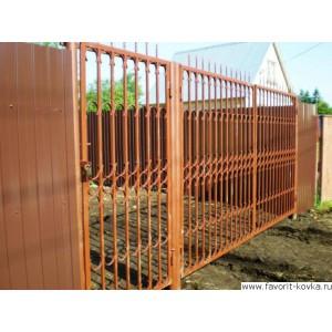 Сварные ворота28