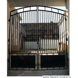 Сварные ворота35