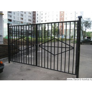 Сварные ворота40