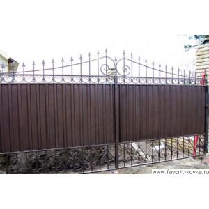Сварные ворота47