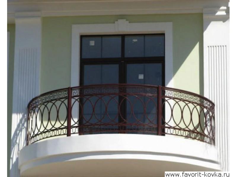 Балконные ограждения металлические изготовим под заказ. ремо.