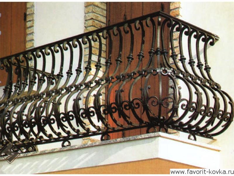 Балконные кованые ограждения49.