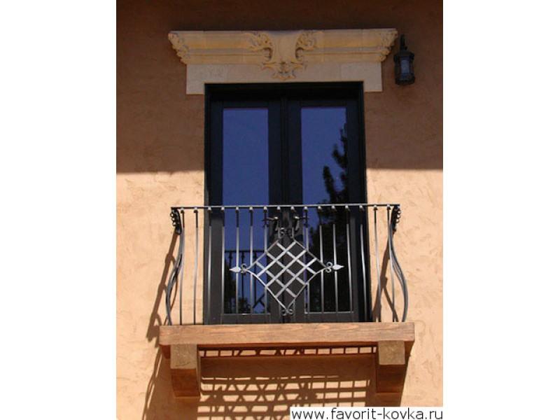 Кованые балконы - недорого купить балкон кованный в санкт-пе.
