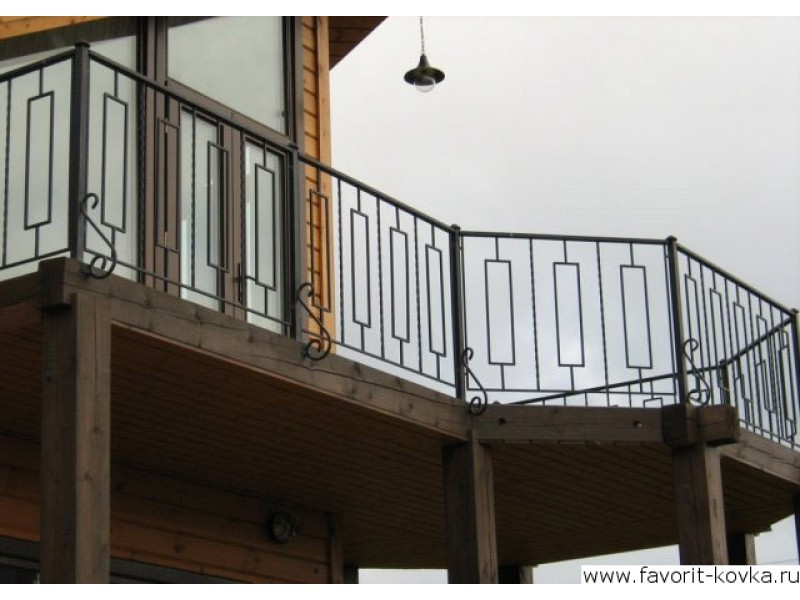 Балконные сварные ограждения20.