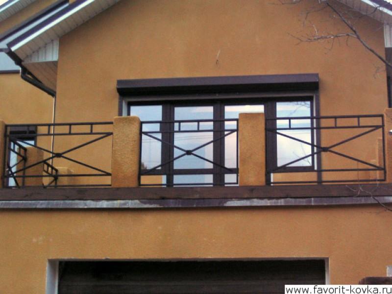 Балконные сварные ограждения26.