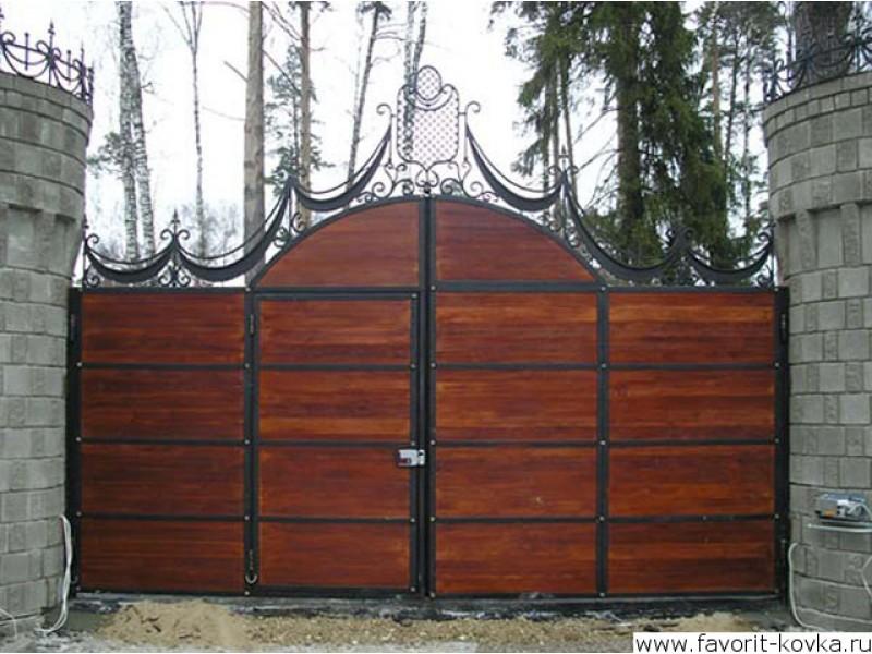 Ворота распашные купить подмосковь распашные ворота с калиткой черт ж расч т