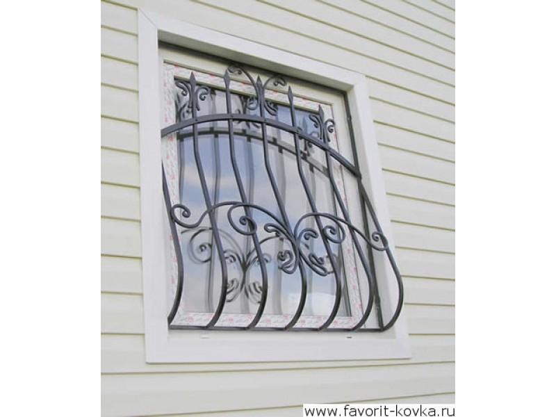 кованные решетки на входную дверь