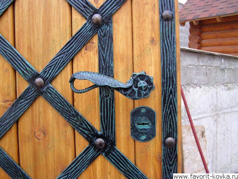ковка кованые изделия на металлические двери