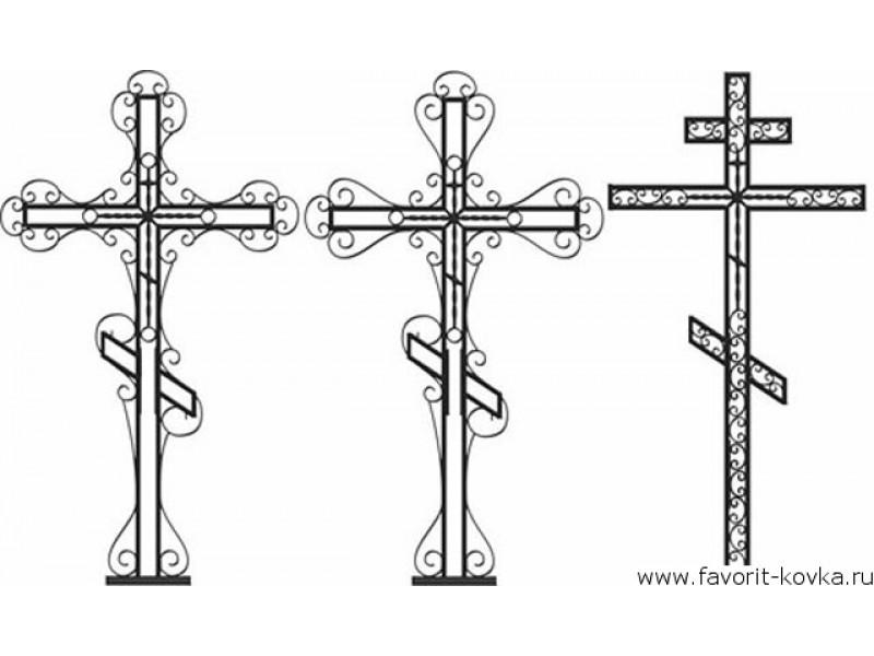 Крест металлический на могилу своими руками